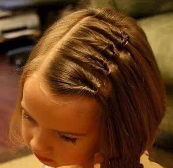 简单好看的小女孩发型 妈妈们收好了