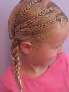 小女孩扎小辫图片大全 真的太可爱了