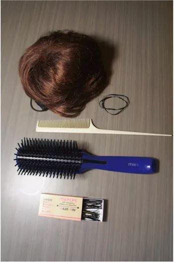 头发少怎么弄花苞头 扎花苞丸子头的方法图解