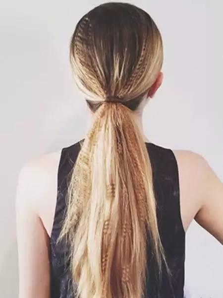 十种经典的扎发款式 包你爱上扎头发图片
