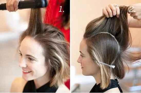 短发怎样编才好看图解 看完你就知道了