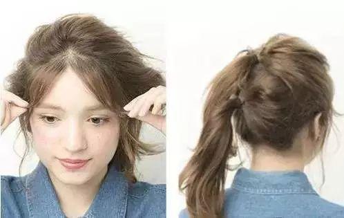 轻熟女风格发型 这四种扎发简单好学