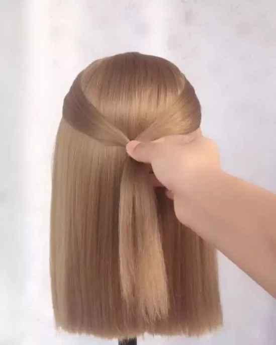 短发怎么扎好看