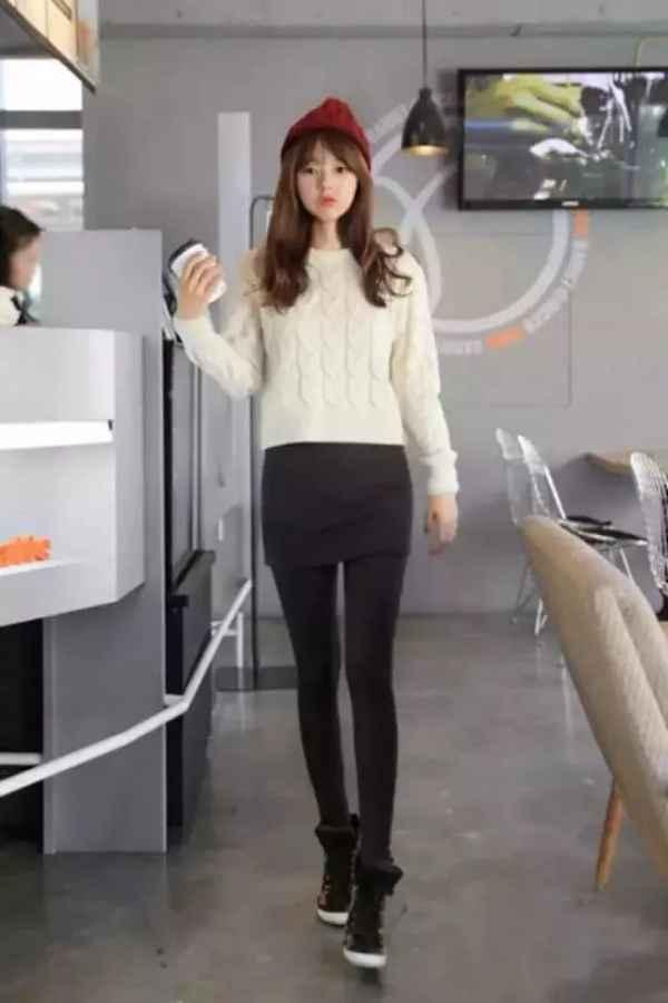 裤袜怎么搭配   秋冬打底裤也是有很多穿搭误区的哦