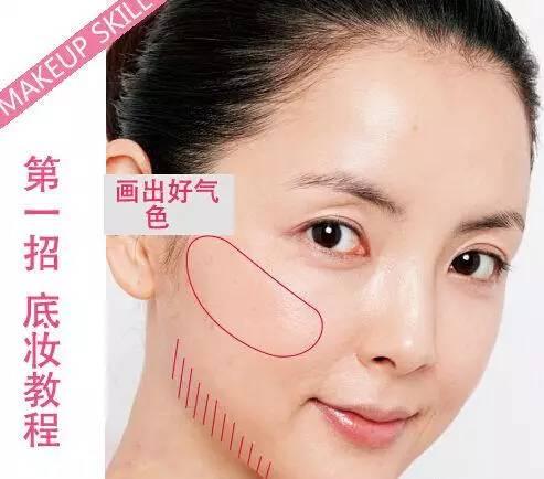"""怎样化妆显脸小 让你""""瘦""""十斤的化妆术"""