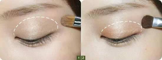 单眼皮怎么画眼线 双眼皮跟单眼皮,眼影化法大不同!